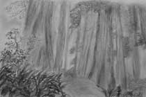 Forest Scene Sketch